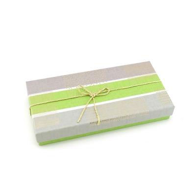 """Коробка подарочная """"Классика"""" Серо-зеленая"""