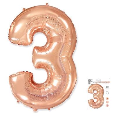40 Ц 3 розовое золото в упаковке / FM /