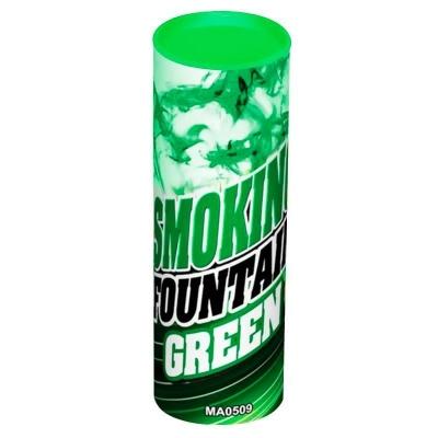 Цветной дым зеленый 12 см, 30 сек. / 1 шт. /
