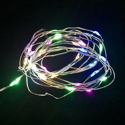 """Светодиодная гирлянда """"Роса"""" / 5м, 50 разноцветных светодиодов / 1 шт. /"""