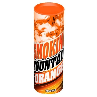 Цветной дым оранжевый 12 см, 30 сек. / 1 шт. /