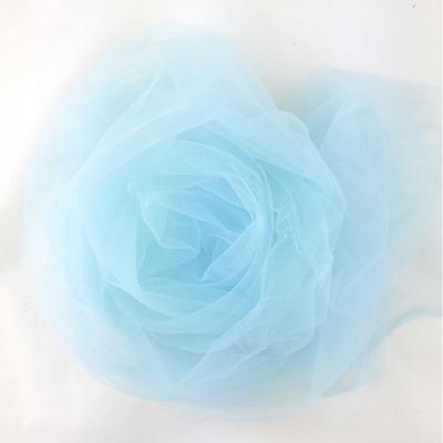 Фатин светло-голубой 24 м (ширина 300 см) / 1 рулон/