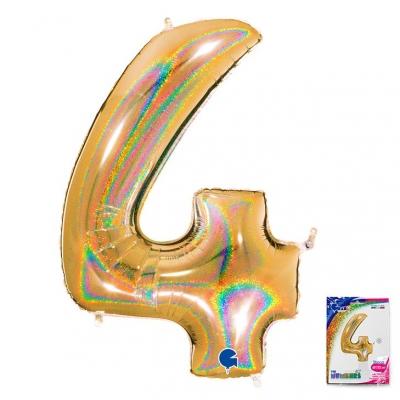 40 Ц 4 Золото голография в упаковке / G /