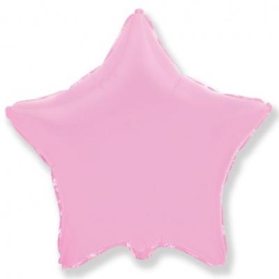 18 Звезда Розовый