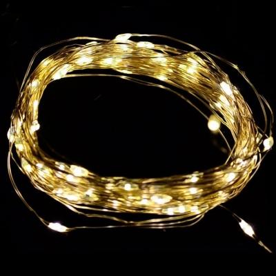"""Светодиодная гирлянда """"Роса"""" / 7м, 70 теплых белых светодиодов / 1 шт. /"""