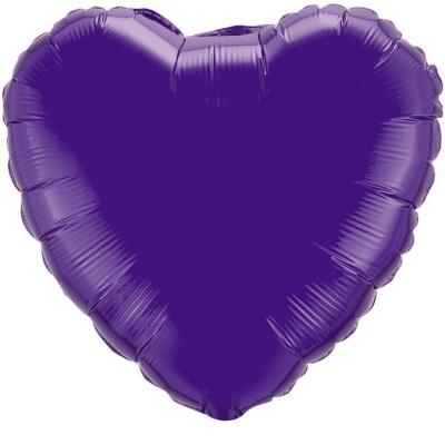 18 Сердце Фиолетовый