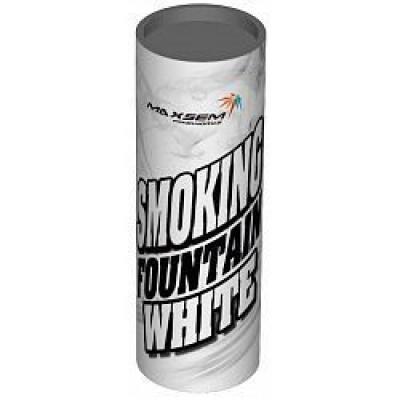 Цветной дым белый 12 см, 30 сек. / 1 шт. /