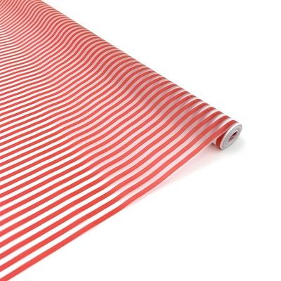 Пленка Зебра люкс на матовой плёнке красный 60 см*10 м
