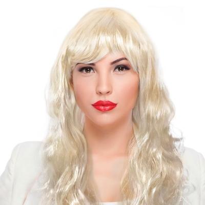 """Парик """"Классический"""" Блондинка"""