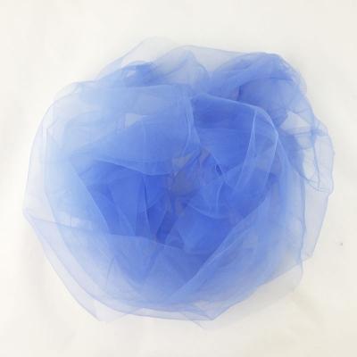 Фатин голубая дымка 24 м (ширина 300 см) / 1 рулон/