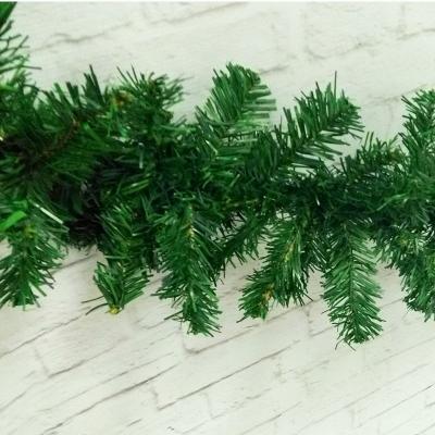 Гирлянда хвойная Зеленая, 160 веток, 2,7 м, 1шт.