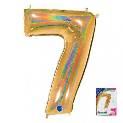 40 Ц 7 Золото голография в упаковке / G /