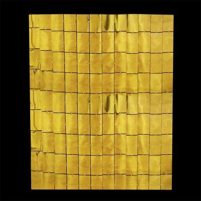 Зеркальная ткань, Золото, 100 см*200 см / 1 шт/