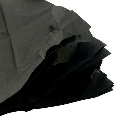 Черная 50*50 см / 10 шт. / Бумага тишью