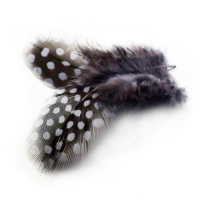Перья Пятнистые Серые 6-8 см