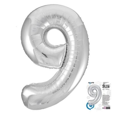 40 Ц 9 Серебро Slim в упаковке / Агура /