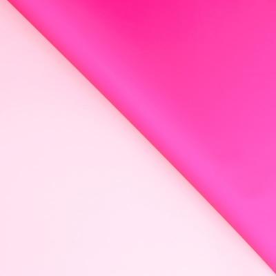 Пленка двухсторонняя матовая Нежно-розовый, Фуксия / 60*60 см / 20 листов
