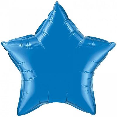 18 Звезда Синий