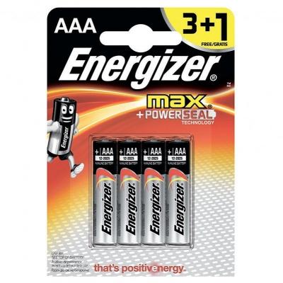Элемент питания Energizer Max ААА /4шт