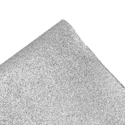 Глиттерная дорожка, Серебро 10 м (ширина 140 см)