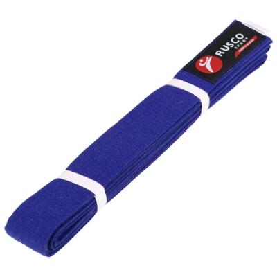 Пояс для карате 2.6 м RUSCO SPORT синий