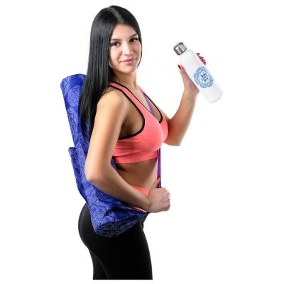 Набор «Живи», чехол для коврика для йоги, бутылка 600 мл