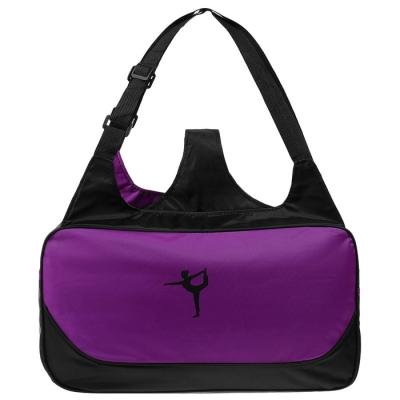 Сумка для йоги, 48 × 25 × 18 см, цвет фиолетовый