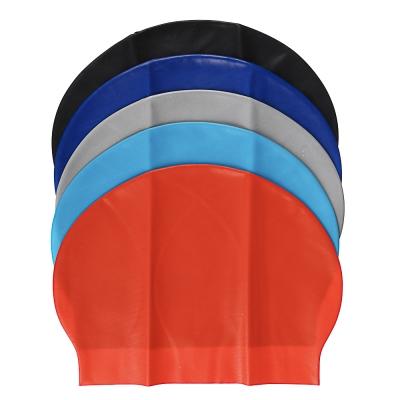 SILAPRO Шапочка для плавания, универсальный размер, силикон