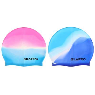 SILAPRO Шапочка для плавания, 18х22см, силикон