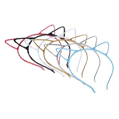 BERIOTTI Ободок для волос 0,5см, металл, полиэстер, 2 дизайна