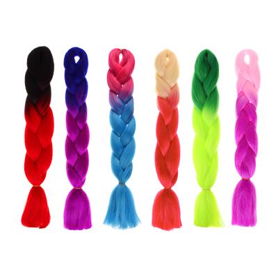 BERIOTTI Коса цветная, длина 60см, нейлон, 4 дизайна