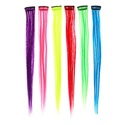 BERIOTTI Цветные пряди волос на гребне, длина 35-40см, ПВХ, 6 цветов