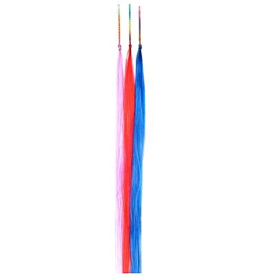 BERIOTTI Цветные пряди волос на невидимках, длина 25-28см, ПВХ, 3 дизайна