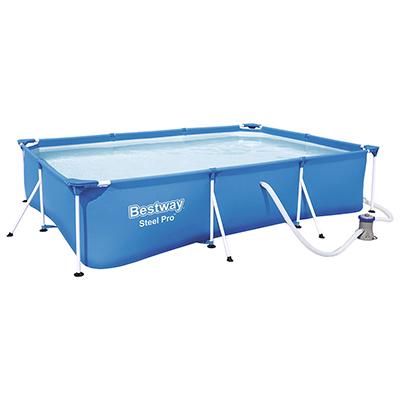 BESTWAY Бассейн каркасный Steel Pro с ф.-насосом, 300х201х66см, 3300л, 56411