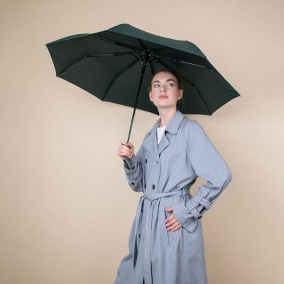 Зонт универсальный, полуавтомат, полиэстер, сплав, 8 спиц, 55см, 5 цветов