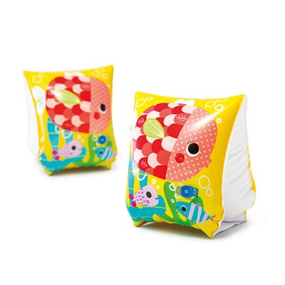 INTEX Нарукавники Забавные рыбки, для 3-6 лет, 23*15см, 58652