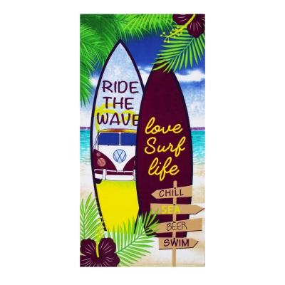 PROVANCE Полотенце махровое пляжное, 100% ПЭ, 70х140см,