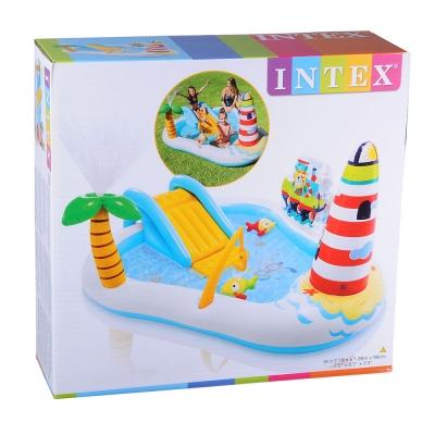 "INTEX Игровой центр ""Веселая рыбалка"", от 3-х лет, 218х188х99см, 57162"
