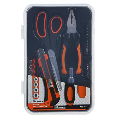 ЕРМАК Набор инструментов, 32 предмета