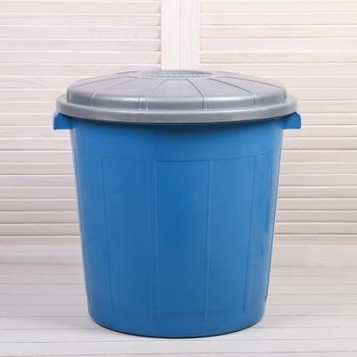 Бак хозяйственно-бытовой «Колор», 50 л, с крышкой, цвет МИКС