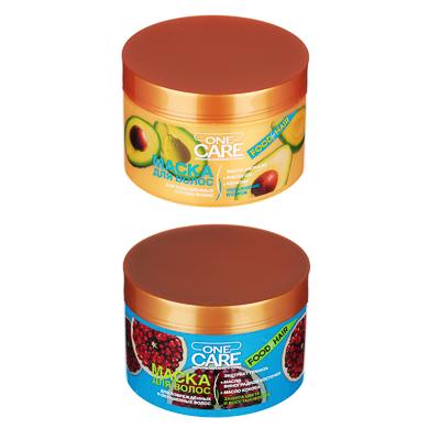 Маска для волос One Care, 450мл, 2 вида