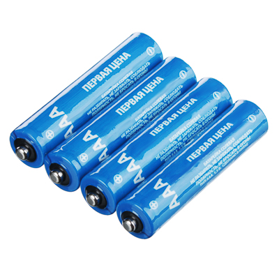 Батарейки Первая цена 4 шт