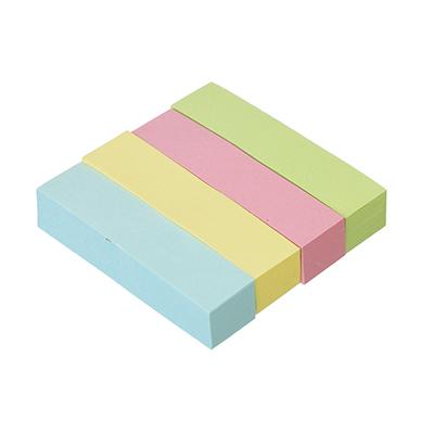 ClipStudio Закладки с клеевым краем бумажные 50x12мм, 4x100 листов, 4 цвета