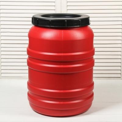 Бочка пищевая, 50 л, горловина 27 см, с крышкой, цвет МИКС