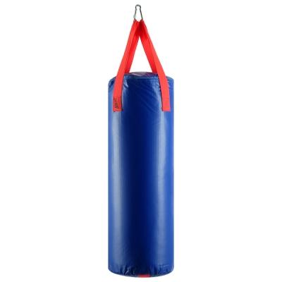 Мешок боксёрский на ременной ленте 15 кг, цвет синий