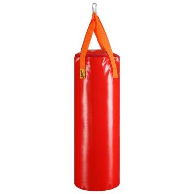 Мешок боксерский на ременной ленте 15кг , цвет красный