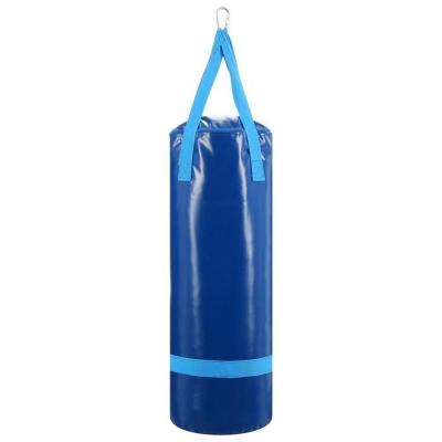 Мешок боксёрский на ременной ленте 20 кг, цвет синий