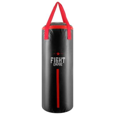 Мешок боксёрский FIGHT EMPIRE, на ленте ременной, винилискожа, 60 см, d=23 см, 11 кг