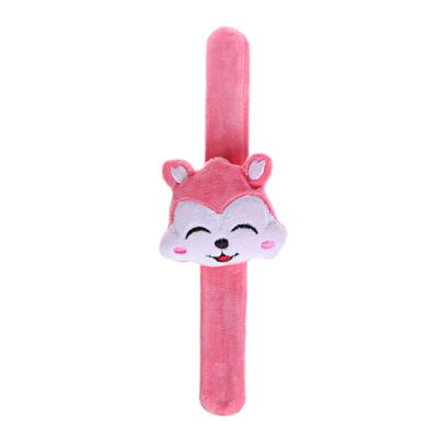 МЕШОК ПОДАРКОВ Кляк-браслет Мягкая игрушка, полиэстер, 23см, 8 дизайнов