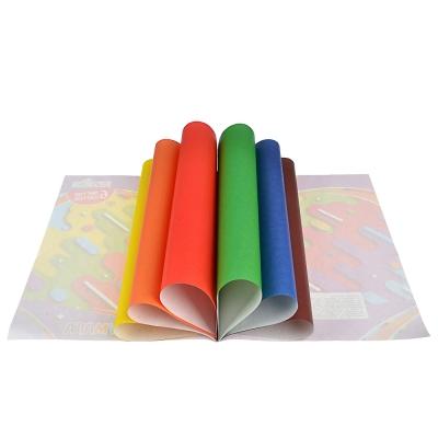 ClipStudio Бумага цветная, 6 листов, 6 цветов, на скрепке